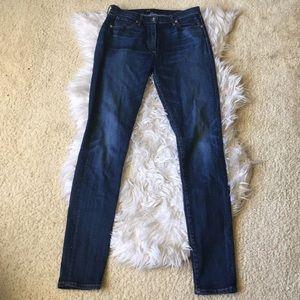 3x1 Dark Wash Skinny Jeans